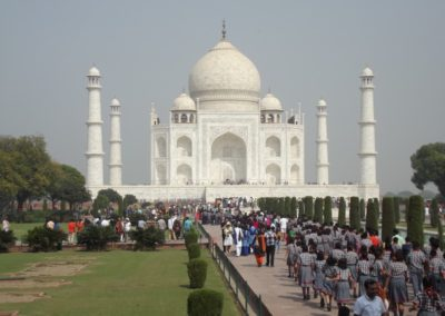 Broceliande Lycee voyage echange Inde 15