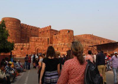 FORT ROUGE Broceliande Lycee voyage echange Inde 8