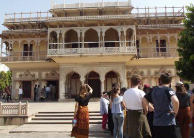 palais des vents Broceliande Lycee voyage echange Inde 3