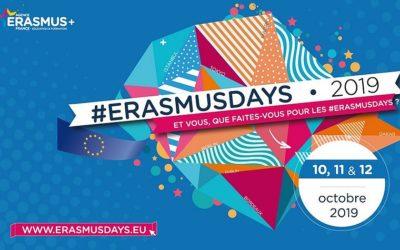 Le Lycée Brocéliande acteur des #Erasmusdays le vendredi 11 octobre