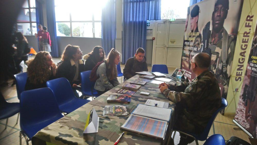 Forum des métiers de Ploërmel lycée Brocéliande