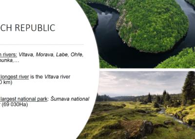 Pourriez-vous citer une rivière située en République tchèque ?