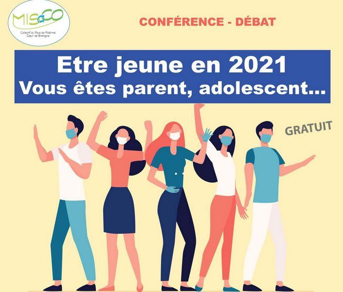 Conférence – débat « Être jeune en 2021 » le 28 juin à 20h