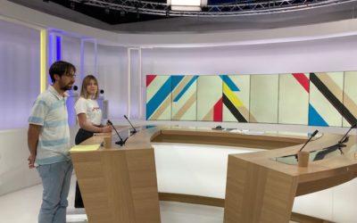 Participation à l'émission Dimanche En Politique FR3 Bretagne.